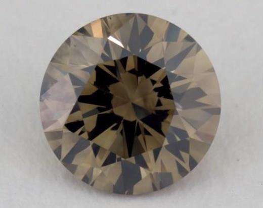1 carat tri-color diamond