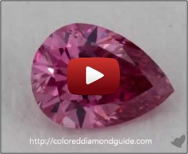 video of diamond close up on turntable