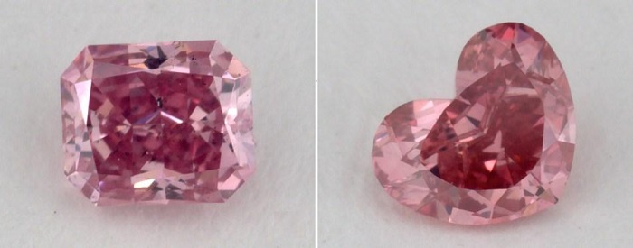 comparison of 2 si1 diamonds
