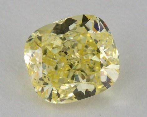 cushion diamond with 65.5% depth