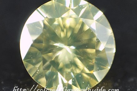 fancy light yellow round brilliant cut