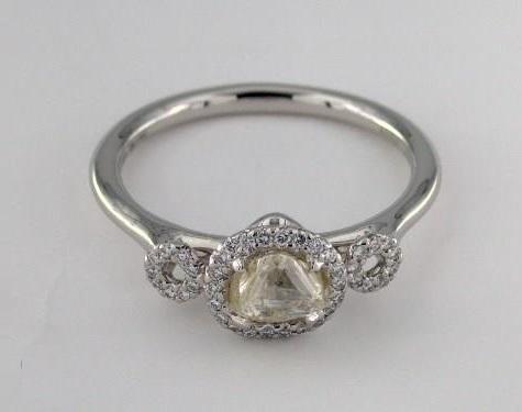 trellis flower diamond ring mounting